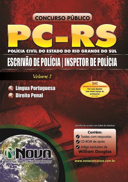 Apostila Concurso da PC - Rs 2013