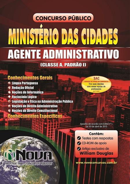 ministerio-das-cidades-agente-administrativo