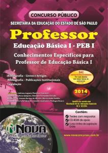 SEE - SP - Professor Educacao Basica I - PEB I