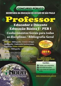 SEE - SP - Professor Educador e Docente - Educacao Basica I - PEB I