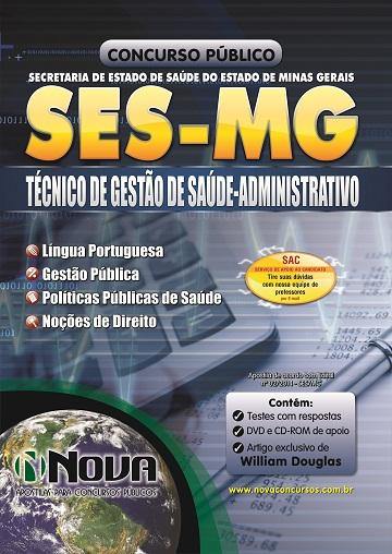 SES - MG - Técnico de Gestão de Saúde