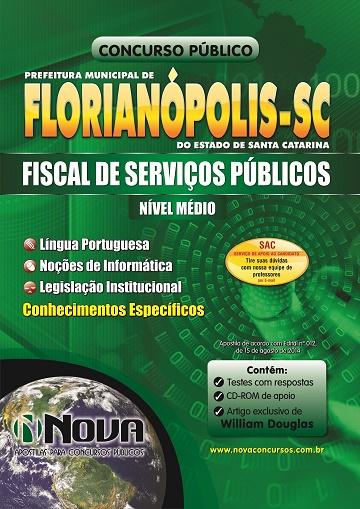 Prefeitura de Florianópolis - Fiscal de Serviços Públicos