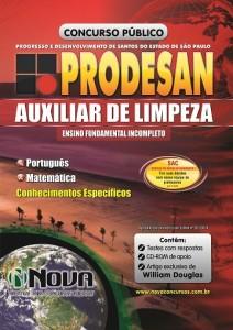 PRODESAN  - Auxiliar de Limpeza