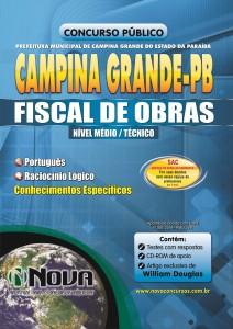 Pref. Campina Grande  - PB  - Fiscal de Obras