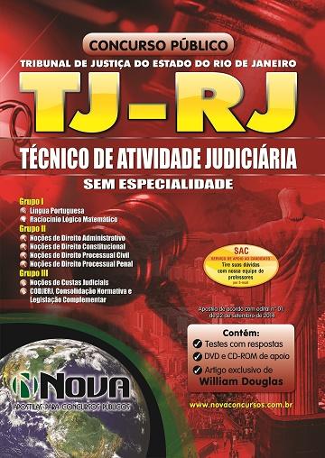 TJ-RJ - Tecnico de Atividade Judiciaria - Sem Especialidade