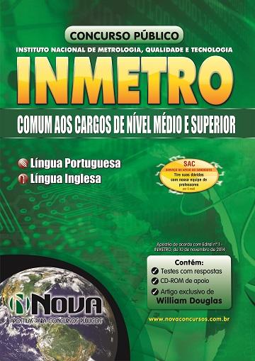 INMETRO - Comum aos Cargos de Nível Médio e Superior 2