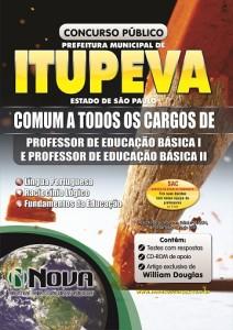 Prefeitura de Itupeva - Comum Professor 3602