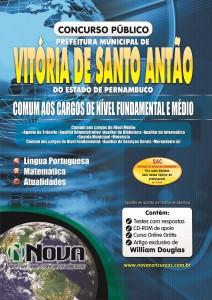 Prefeitura de Santo Antao - PE - Comum Nivel Fundamental e Medio