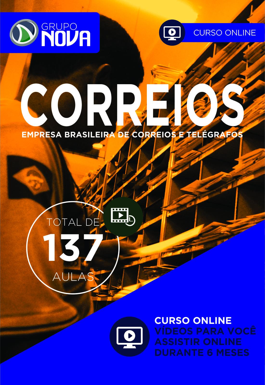 CORREIOS - CURSO ONLINE