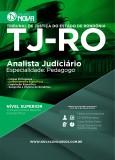 TJ - RO - Analista Judiciário - Especialidade Pedagogo