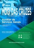 Pref  Mogi das Cruzes - Auxiliar de Serviços Gerais