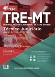 TRE - MT - Tec  Judiciario - Area Adm vol I