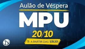 Aulão de Véspera MPU