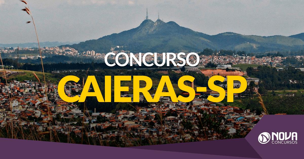 Caieiras São Paulo fonte: www.novaconcursos.com.br