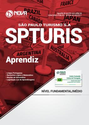 Apostila SPTURIS (São Paulo Turismo S.A) - Aprendiz