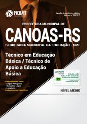 Apostila Prefeitura de Canoas-RS - Técnico em Educação básica