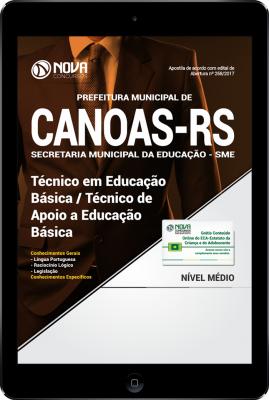 Download Apostila Prefeitura de Canoas-RS PDF - Técnico em Educação básica