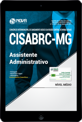 Download Apostila CISABRC-MG PDF - Assistente Administrativo