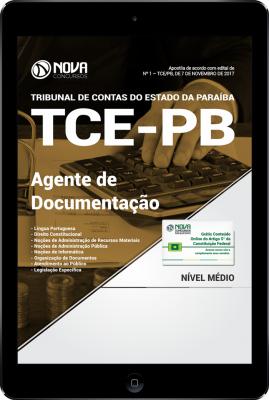 Download Apostila TCE-PB PDF - Agente de Documentação