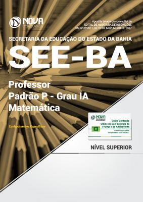 Apostila SEE-BA - Professor Padrão P - Grau IA - Matemática