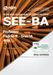 Apostila SEE-BA - Professor Padrão P – Grau IA - Arte
