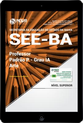 Download Apostila SEE-BA PDF - Professor Padrão P – Grau IA - Arte