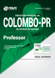 Apostila Prefeitura de Colombo-PR - Professor