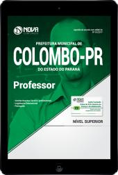Download Apostila Prefeitura de Colombo-PR PDF - Professor