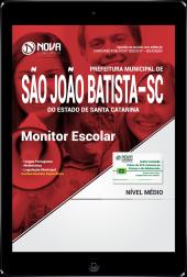 Download Apostila Prefeitura de São João Batista-SC PDF - Monitor Escolar