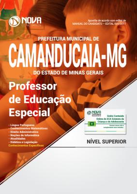 Apostila Prefeitura de Camanducaia - MG - Professor de Educação Especial
