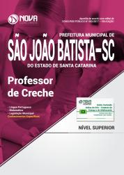 Apostila Prefeitura de São João Batista-SC - Professor de Creche