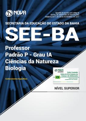 Apostila SEE-BA - Professor Padrão P - Grau IA - Ciências da Natureza: Biologia