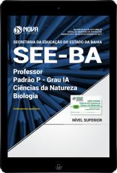 Download Apostila SEE-BA PDF - Professor Padrão P - Grau IA - Ciências da Natureza: Biologia