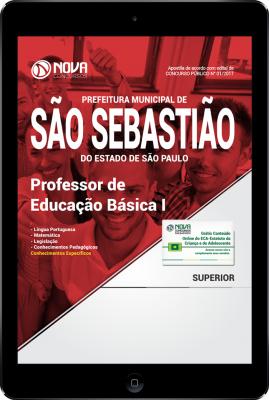 Download Apostila Prefeitura de São Sebastião - SP PDF - Professor de Educação Básica I