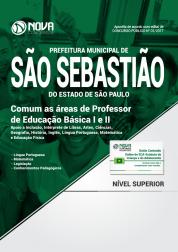 Apostila Prefeitura de São Sebastião - SP - Comum as áreas de Professor de Educação Básica I e II