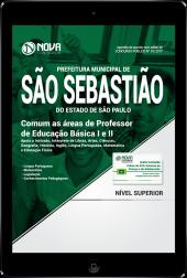 Download Apostila Prefeitura de São Sebastião - SP PDF - Comum as áreas de Professor de Educação Básica I e II