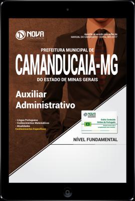 Download Apostila Prefeitura de Camanducaia - MG PDF - Auxiliar Administrativo