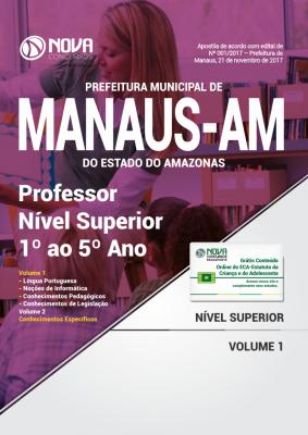 Apostila Prefeitura de Manaus - AM - Professor Nível Superior 1º ao 5º Ano