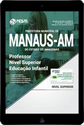 Download Apostila Prefeitura de Manaus - AM PDF - Professor Nível Superior - Educação Infantil