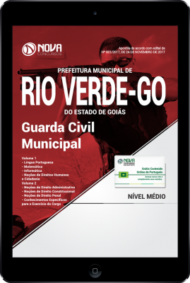 Download Apostila Prefeitura de Rio Verde - GO PDF - Guarda Civil Municipal