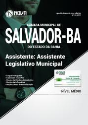 Apostila Câmara Municipal de Salvador - BA - Assistente Legislativo Municipal