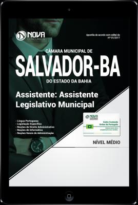 Download Apostila Câmara Municipal de Salvador - BA PDF - Assistente Legislativo Municipal