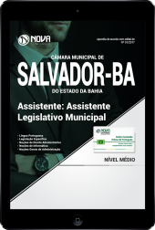 Download Apostila Câmara Municipal de Salvador - BA PDF - Assistente Legislativo Municipal