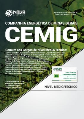 Apostila CEMIG - MG - Comum aos Cargos de Nível Médio/Técnico