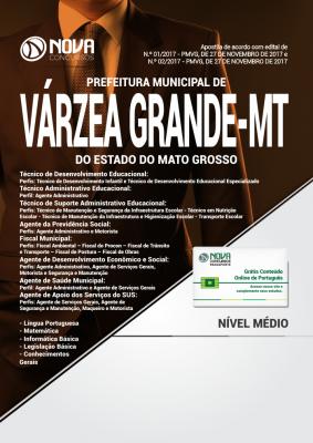 Apostila Prefeitura de Várzea Grande - MT - Técnico em Desenvolvimento Educacional