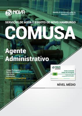 Apostila COMUSA - RS - Agente Administrativo