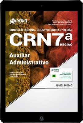 Download Apostila CRN 7ª Região PDF - Auxiliar Administrativo