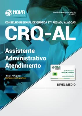 Apostila CRQ - AL - Assistente Administrativo Atendimento