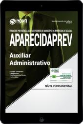 Download Apostila AparecidaPREV - GO PDF - Auxiliar Administrativo