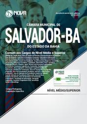 Apostila Câmara Municipal de Salvador - BA - Comum aos Cargos de Nível Médio e Superior